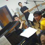《組曲「展覧会の絵の」[Sax.2&Pf.]》レコーディング